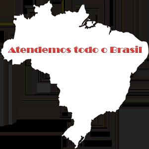 Atendemos todo o Brasil